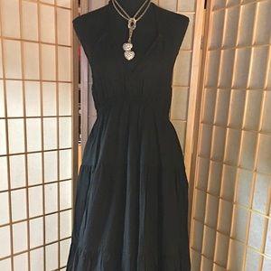 Express-blk/halter dress. Sz MP, NWT! Pretty!🍑